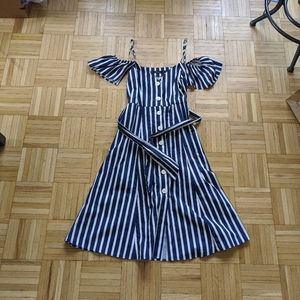 Zara overknee dress with belt